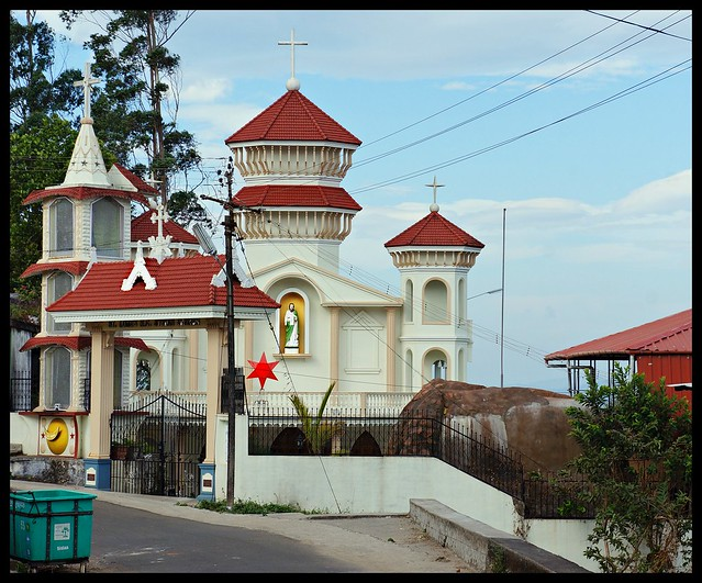 Valparai - Pretty church