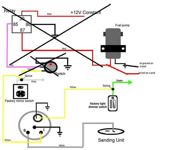 Maf With S-pod Wiring