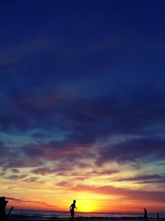 Image of Playa Araminda. sunset beach uruguay atardecer playa iphone canelones chameleonfilter balnearioaraminda