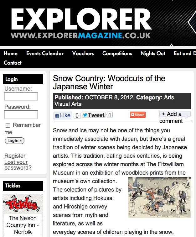 Winter snow Explorer Mag