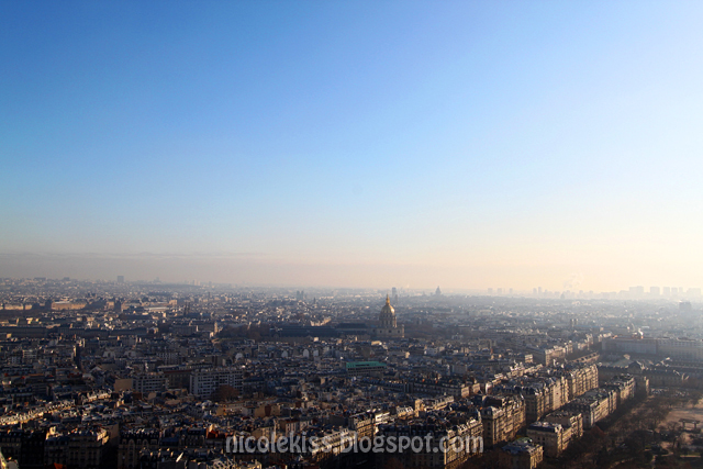 Paris City from Eiffel