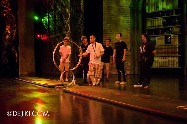Acrobat rings - level 1