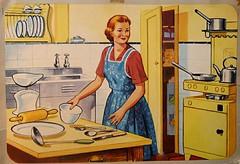 Vintage or Retro Kitchen