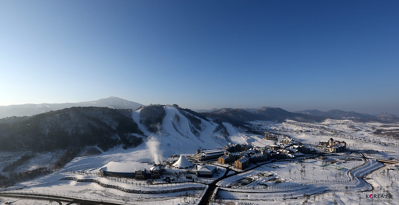 Alpensia Resort in Pyeongchang, Gangwon-do, Korea