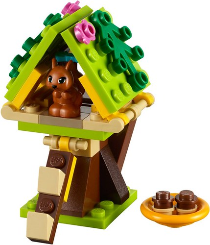 Squirrel's Tree House #41017