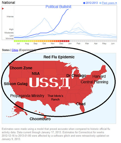 RED FLU MAP by Colonel Flick/WilliamBanzai7