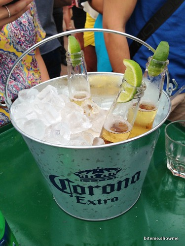 El Loco at the House - Corona Bucket