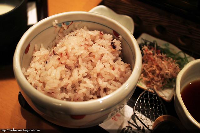 嵯峨とうふ稲 - Rice <a href=