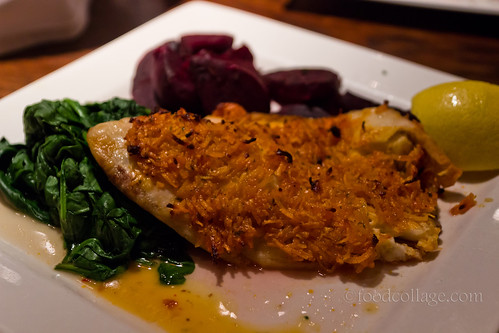 Chili Coconut Crusted Tilapia at The Fish House (Toronto - Markham)