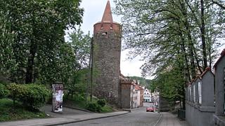Jedna z wież obronnych w Paczkowie