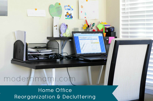 Reorganizing & Decluttering the Home Office