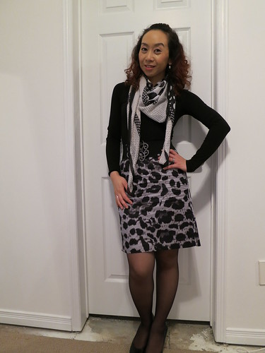 Pattern Mixing Black and White - Toronto Beauty Reviews