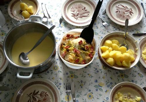 Gefülltes Kraut - Mittagstisch / Stuffed cabbage - Lunch table