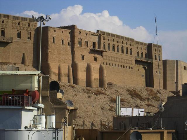 Ciudadela de Erbil, Irak.