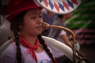Tuba Player, Chiang Mai Flower Festival Parade 2013