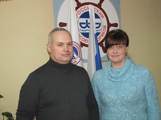 Юристы БТО РПСМ Дмитрий Иванов и Людмила Падубоцкая