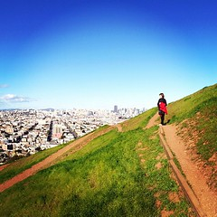 Hiking w/ @particija