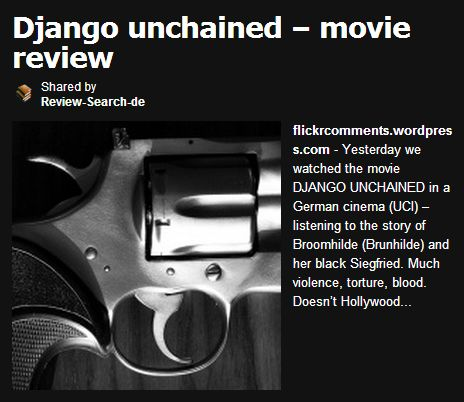 django-unchained-review