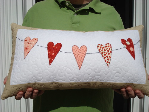 Valentine's Heart Pillow