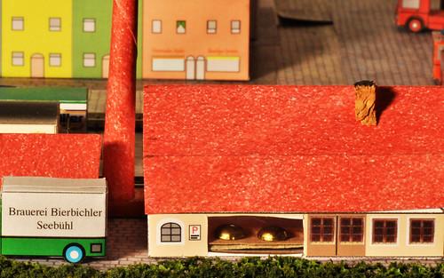 Modelleisenbahn Spur Z Modellbahnbau Häuser Autos