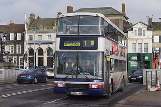 First in Great Yarmouth (c) David Bell