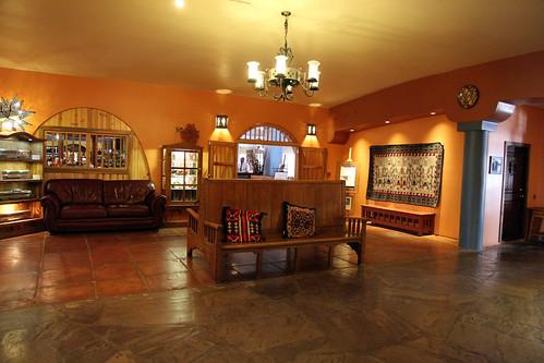 La Posada - Outside the Dining Area