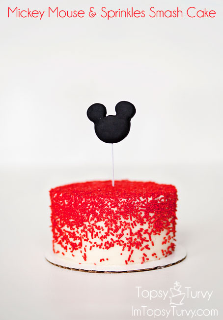 mickey-mouse-sprinkles-smash-cake