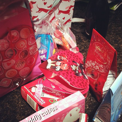 Valentine candy mother load