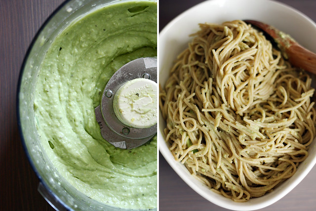 creamy avocado pasta magic