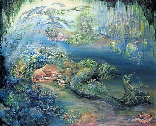 012-Sueños de la Atlantida-Josephine Wall-via www.dana-mad.ru