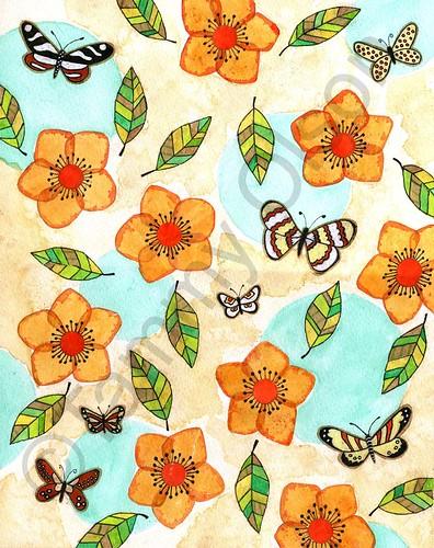 flowers a flutter