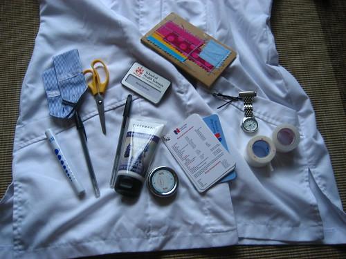 Nursing detritus