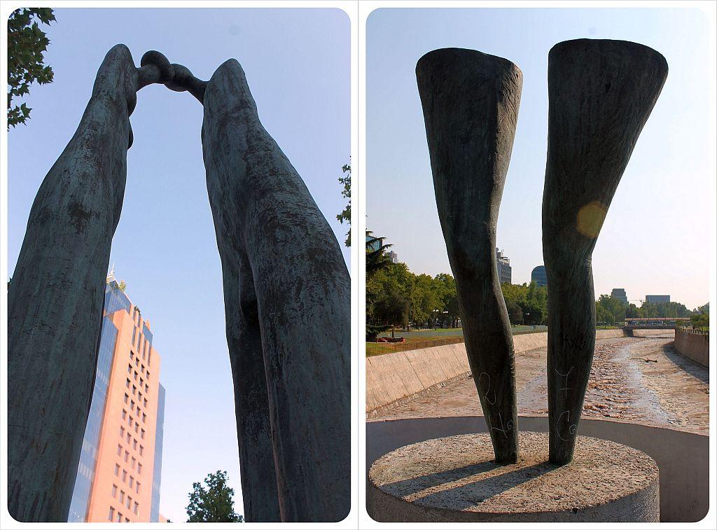 Santiago de Chile sculptures