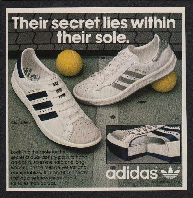 1984 adidas grand prix bettina tennis shoes sneakers. Black Bedroom Furniture Sets. Home Design Ideas