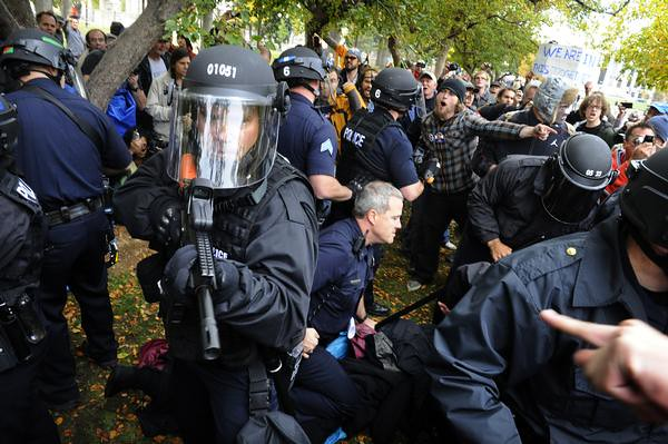 Occupy Denver, Craig F. Walker, The Denver Post