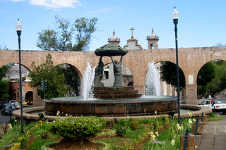 IMG_1850: Fountain in Front of Old Aqueduct