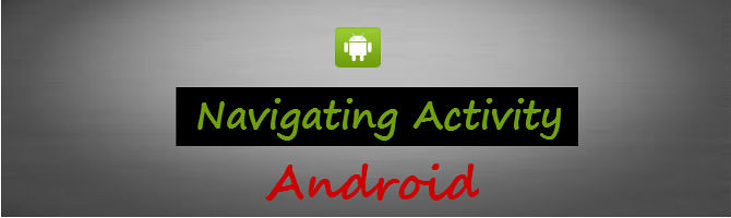 android navigate