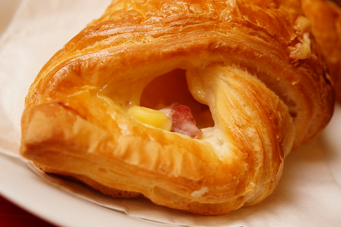 sunset cheese croissant