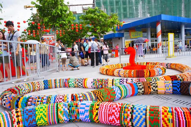 LEGOLAND Malaysia World's Longest LEGO Snake (25)
