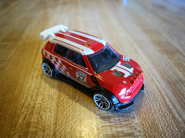 Red Hot Wheels Rally Clubman