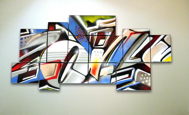 Zany on Canvases