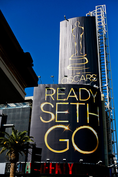 ready seth go academy awards 2013 hollywood highland