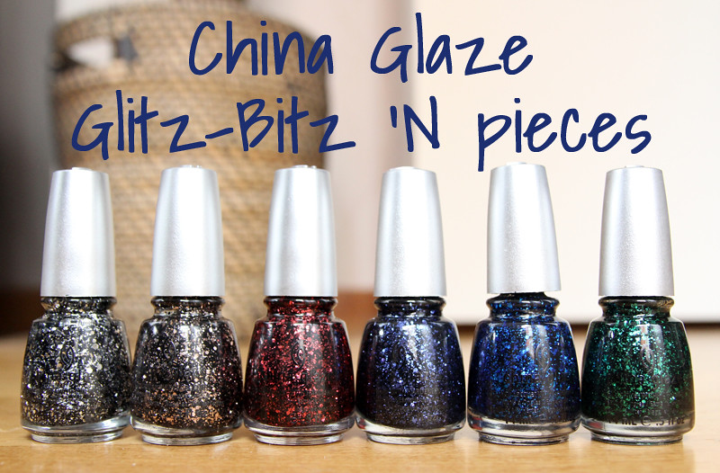China Glaze Glitz-bitz 'n pieces