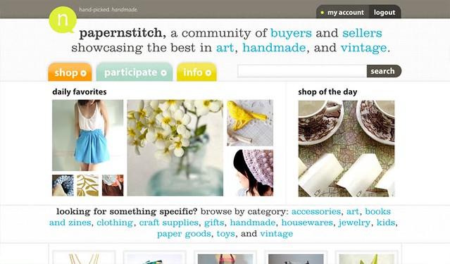Papernstitch exhibition site