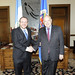 Secretary General Receives Foreign Minister of Guatemala