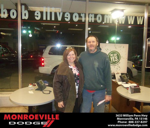 Congratulations to Patrick Nave on the 2007 Dodge Durango by Monroeville Dodge