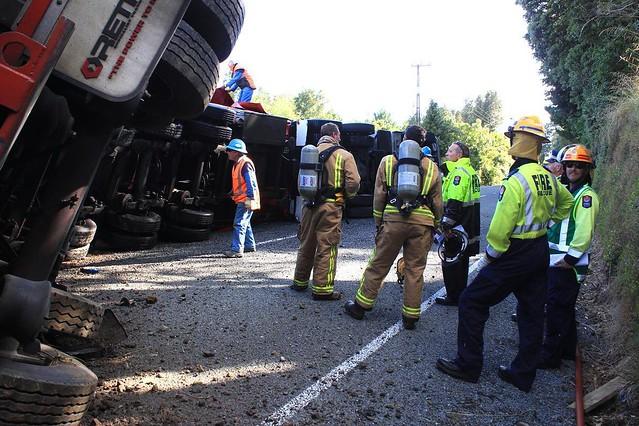 Food Truck Crash Evergreen Mill
