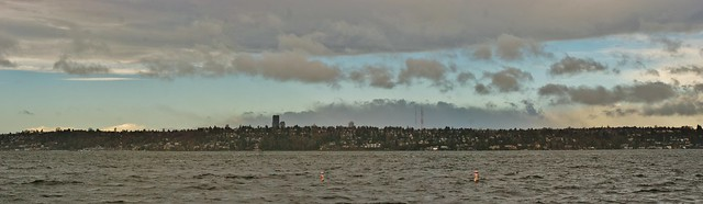 Seattle Skyline over Lake Washington
