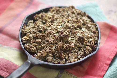 breakfast crumble :: road to the farm