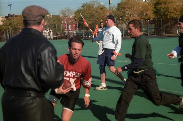 1993-1996 Alumni vs. Undergrad Football